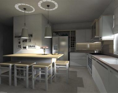 Cucina moderna in Rovere