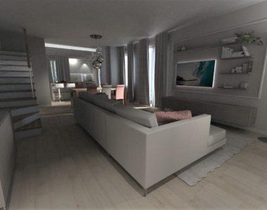 Progetto appartamento moderno