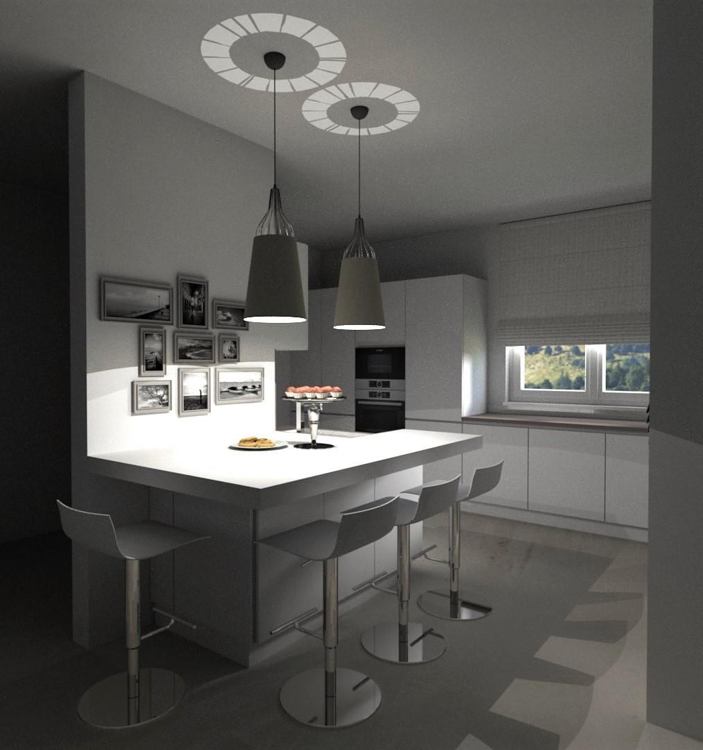 Cucina Living laccata