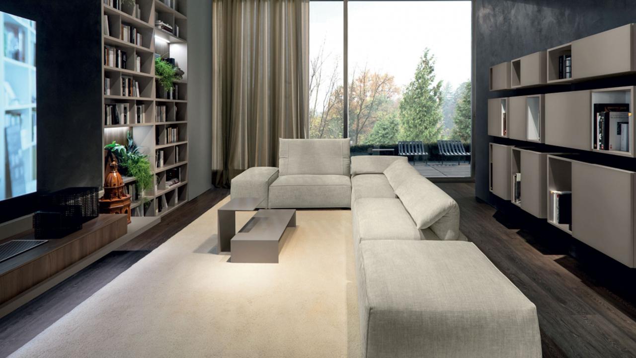 Libreria con divano Freemood Link System