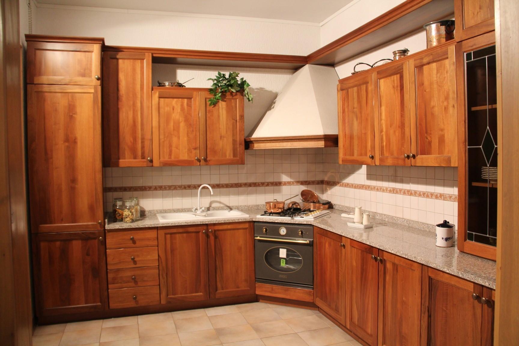 Cucina angolare Concorde noce