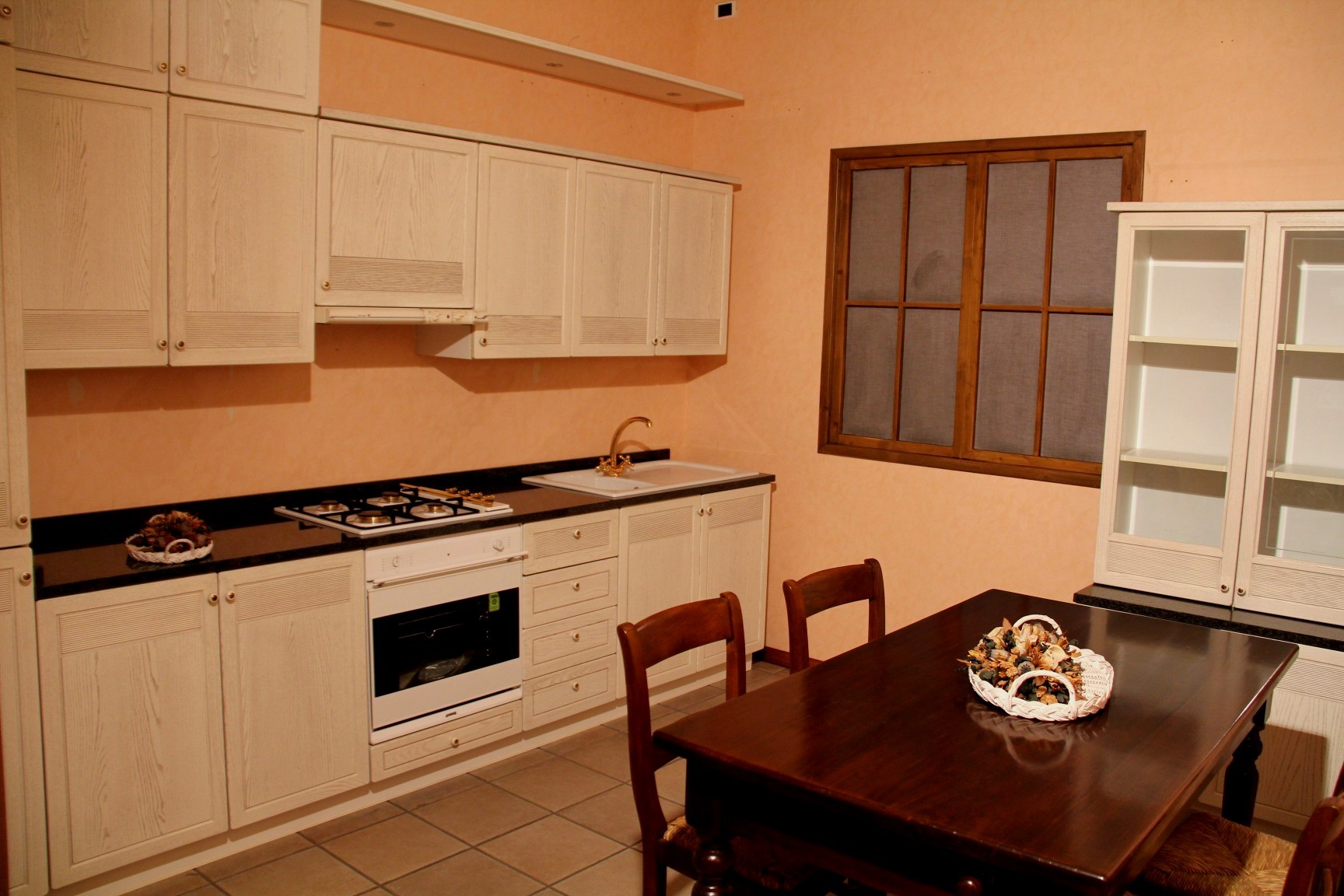 Cucina frassino bianco